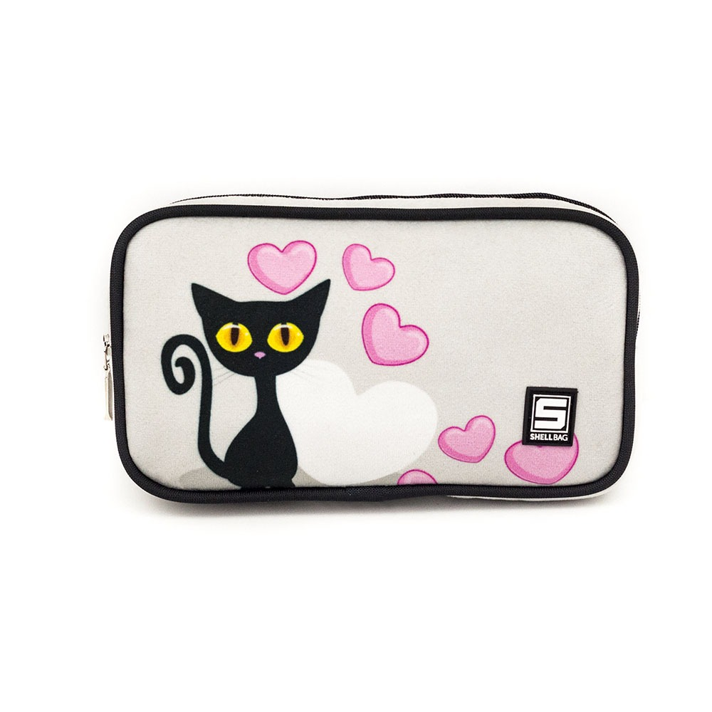 Kosmetyczka Z Kotem Black Cat Collecttion Shellbag